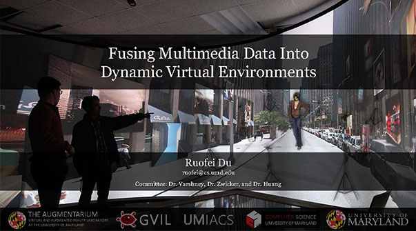Fusing Multimedia Data Into Dynamic Virtual Environments Teaser Image.