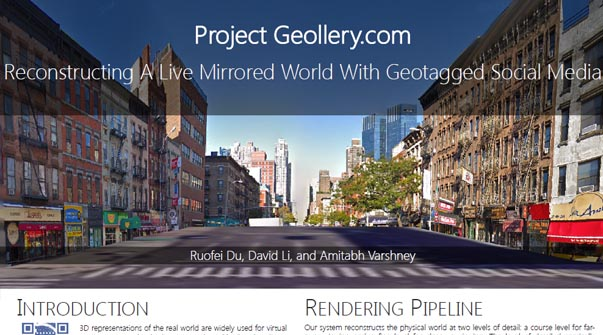 Interactive Fusion of 360° Images for a Mirrored World Teaser Image.