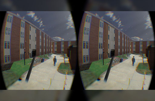 teaser image of Video Fields: Fusing Multiple Surveillance Videos Into a Dynamic Virtual Environment