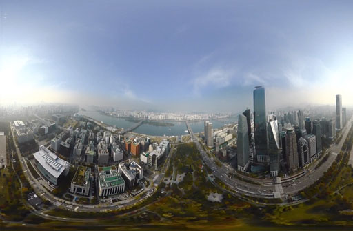 360 Video Streaming and Rendering Teaser Image.